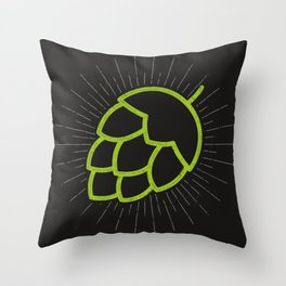 Me So Hoppy Throw Pillow