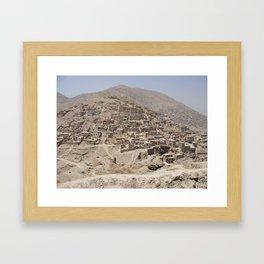 Hill in Kabul Framed Art Print