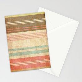 pattern grundgy stripes Stationery Cards