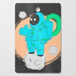 The Astronaut Cutting Board
