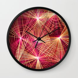 Raspberry Supernovae Wall Clock