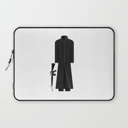 The Matix Outfit Minimal Sticker Laptop Sleeve