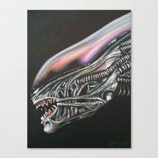 Xenomorph Canvas Print