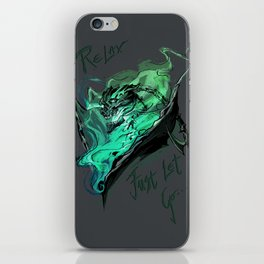 League of Legends- Thresh fanart iPhone Skin
