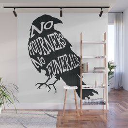 No Mourners No Funerals Six of Crows Wall Mural