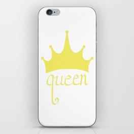 queen iPhone Skin