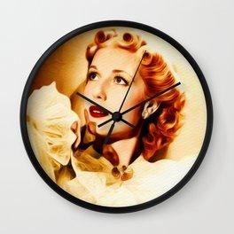 Anita Louise, Vintage Actress Wall Clock