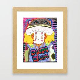 Dum Dum Framed Art Print