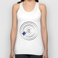 chicago bulls Tank Tops featuring Bulls Eye by Nivedhna