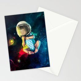 Baby Astronaut Stationery Cards