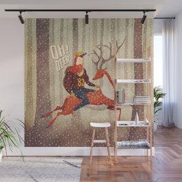 Deer Wall Mural
