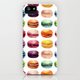 Macaroons Stacked iPhone Case