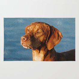 Vizsla dog - Hungarian hound Rug