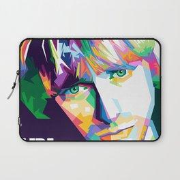 Cobain In Pop Art Laptop Sleeve