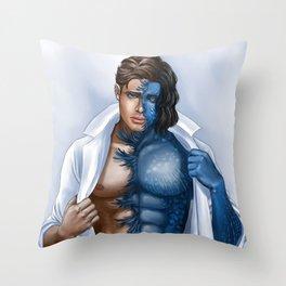 A Shapeshifter Throw Pillow