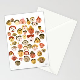 A Crowd of Diversity Stationery Cards