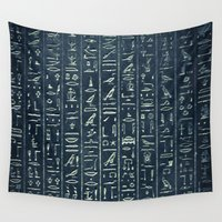 egypt Wall Tapestries featuring Egypt by Zeno Photography