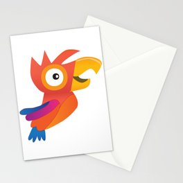 Cute parrot Stationery Cards