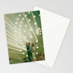 the light pours out of me Stationery Cards