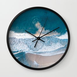 Summer Ocean Wall Clock