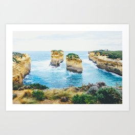 Tom and Eva Great Ocean Road Fine Art Print  • Travel Photography • Wall Art