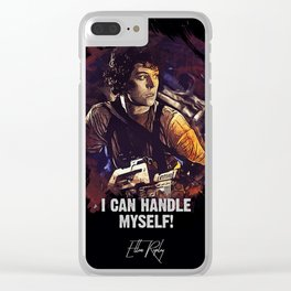 I Can Handle Myself! Clear iPhone Case