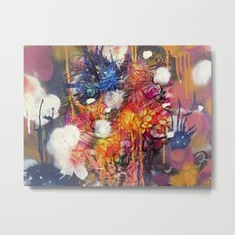 FlowerFish Metal Print