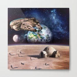 Tatooine Dream Metal Print