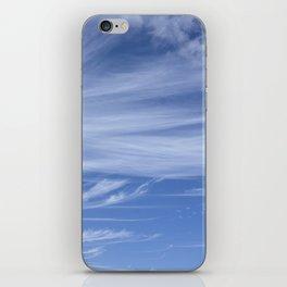 Little wispy clouds iPhone Skin