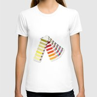 pantone T-shirts featuring PANTONE by VincenzoRusso