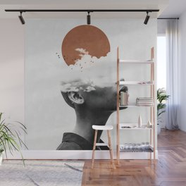 I want to fly away ... Wall Mural