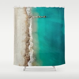 Fifty Shades of Kourion Shower Curtain