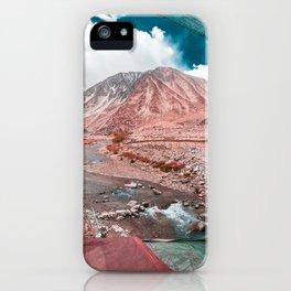 When exploring Ladakh, Be traveler not Tourist ... iPhone Case