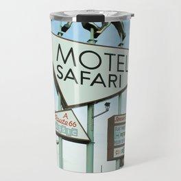 Route 66 - Motel Safari Travel Mug