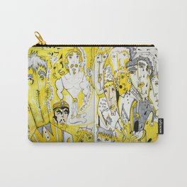 yellow people Carry-All Pouch