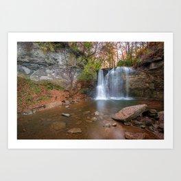 Hayden Falls Park - Dublin Ohio Art Print