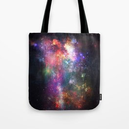 The Melting of Our Space-Time Fabric Tote Bag