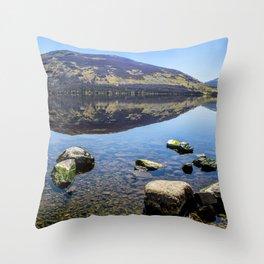 Loch Earn Throw Pillow