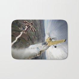Aerobatic duel Bath Mat