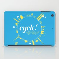 cycle iPad Cases featuring Cycle! by Geminianum