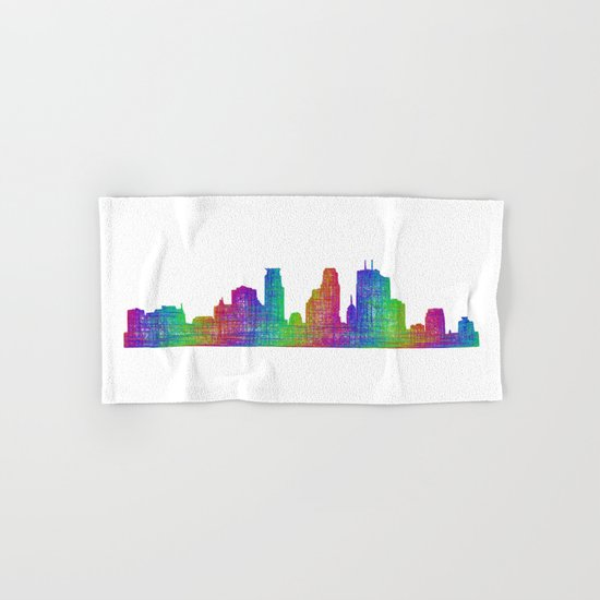 Minneapolis Hand & Bath Towel