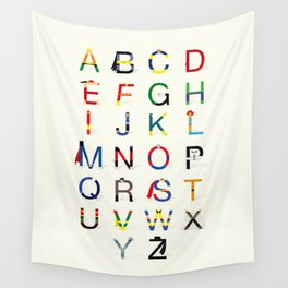 ABC SH Wall Tapestry