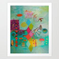 Up High Art Print