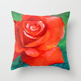 A Study in Complimentary Colors Throw Pillow