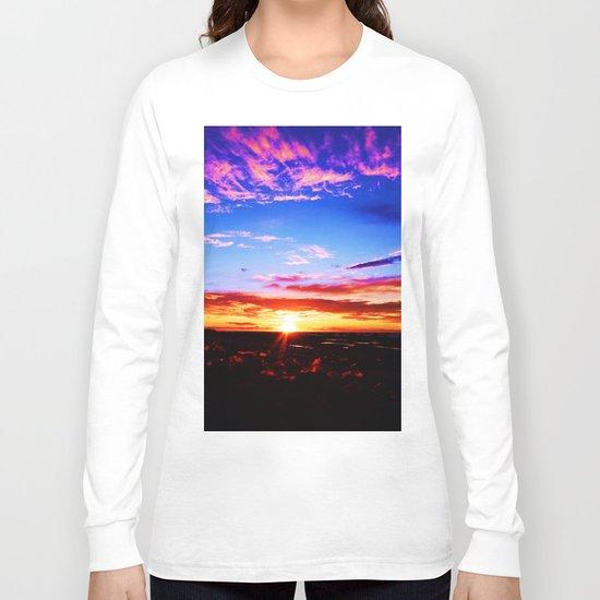 Easter Egg Sky Long Sleeve T-shirt