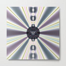 Diamond Lights Metal Print