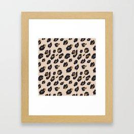 B&B Leopard Design Framed Art Print