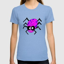 Drawing cartoon of a funny looking spider T-shirt