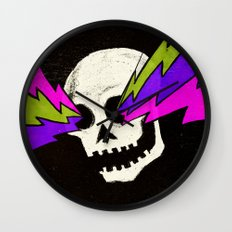 Variations on a Skull Part One Wall Clock