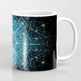Dimensional Tensegrity Coffee Mug